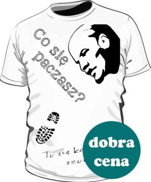Koszulka biała męska wersja 1