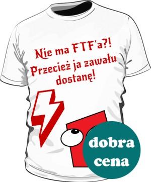 Koszulka FTF biała