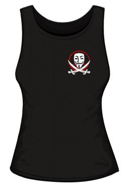 Anonymous Logo Top damski