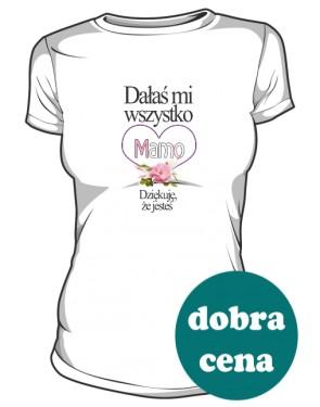 Upominek dla Mam koszulka damska
