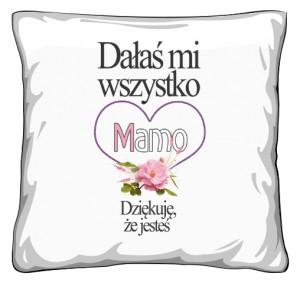 Upominek na dzień Mamy Poduszka
