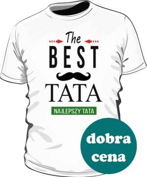 Koszulka z wąsem The Best Taty