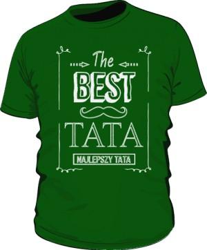 Koszulka Zielona Best Taty Ramka