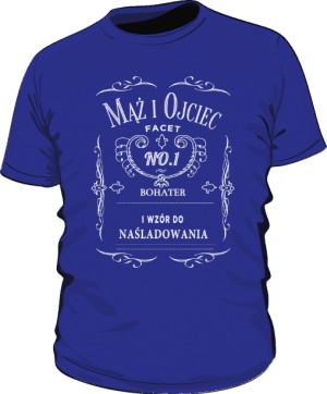 Bohater Domu niebieska koszulka męska