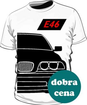 E46 Koszulka Biała