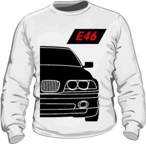 E46 Bluza Biała