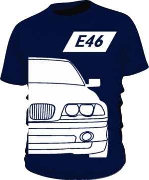 E46 Koszulka Granatowa