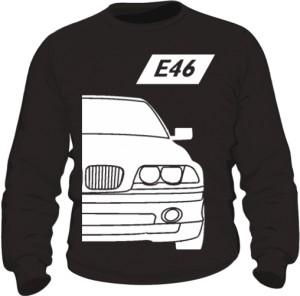 E46 Bluza Czarna