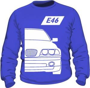 E46 Bluza Niebieska