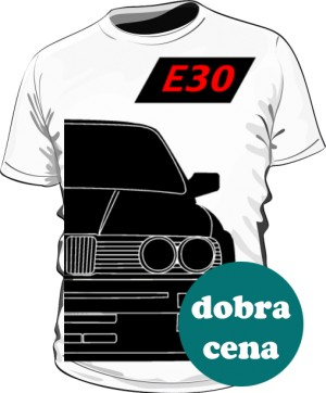 E30 Koszulka Biała