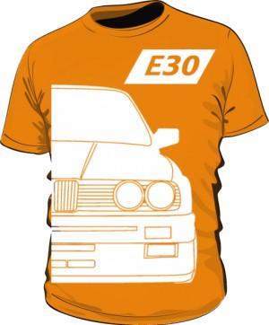 E30 Koszulka Pomarańczowa