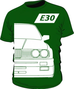 E30 Koszulka Zielona