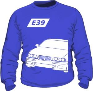 E39 Bluza Niebieska