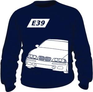 E39 Bluza Granatowa