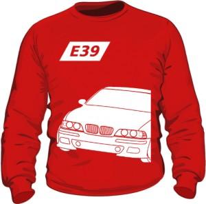 E39 Bluza Czerwona