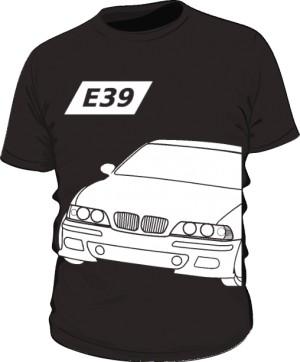 E39 Koszulka Czarna