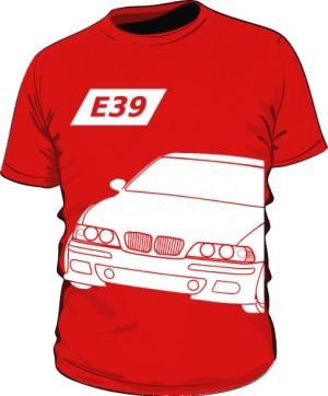 E39 Koszulka Czerwona