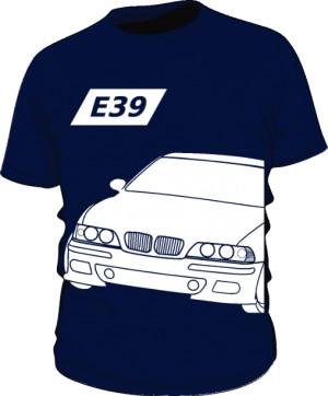 E39 Koszulka Granatowa