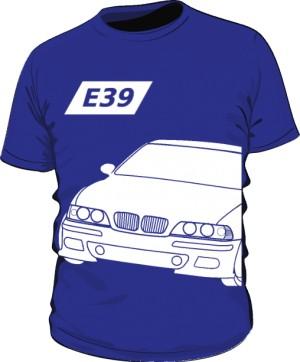 E39 Koszulka Niebieska