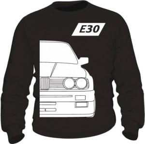 E30 Bluza Czarna