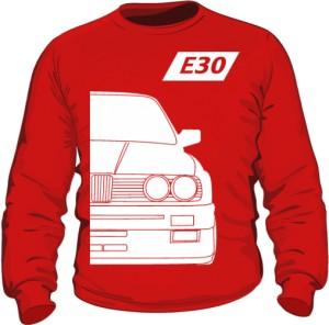 E30 Bluza Czerwona