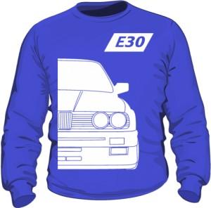 E30 Bluza Niebieska