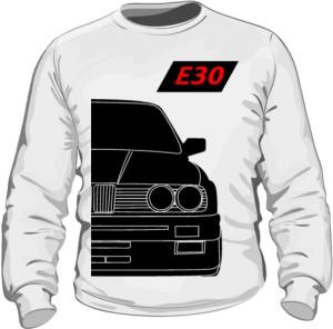 E30 Bluza Biała