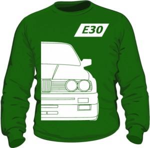 E30 Bluza Zielona