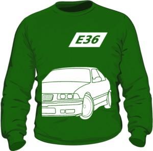 E36 Bluza Zielona