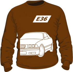 E36 Bluza Brązowa
