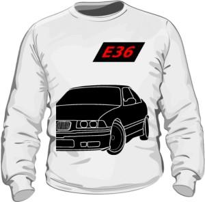E36 Bluza Biała