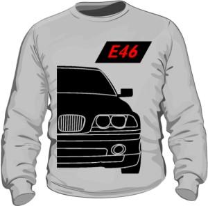 E46 Bluza Szara