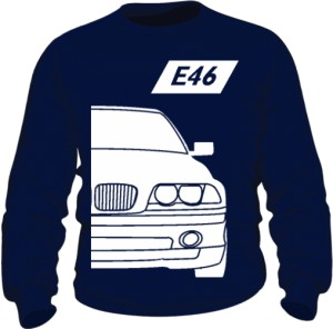 E46 Bluza Granatowa