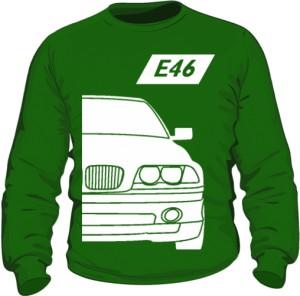 E46 Bluza Zielona