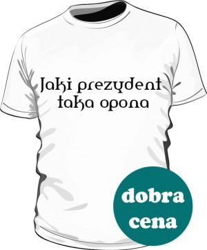 koszulka opona biała