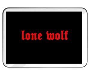 Podkładka Samotny Wilk