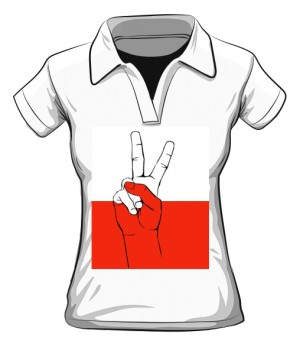 Victoria koszulka polo damska