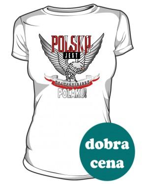 POLSKA Najważniejsza koszulka damska