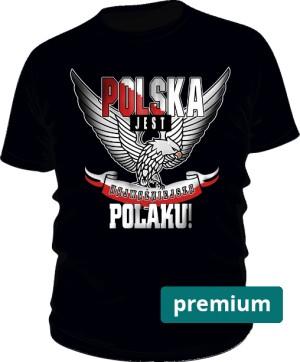 POLSKA Najważniejsza wer2 tshirt