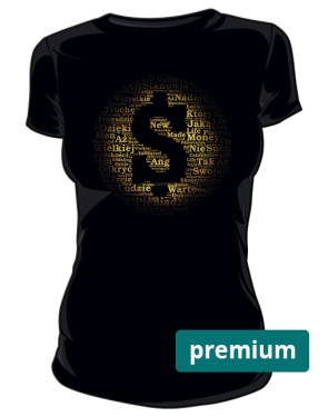 Money and Gold Premium koszulka damska