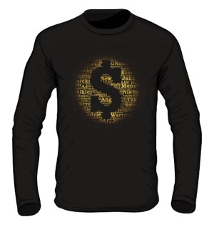 Money and Gold Longsleeve męski
