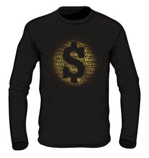 Money and Gold Longsleeve męski