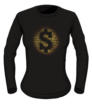 Money and Gold Bluzka damska