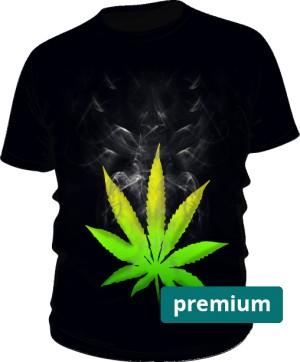 Cannabis koszulka męska