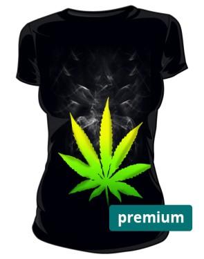 Cannabis koszulka damska