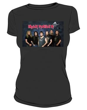 Koszulka Iron Maiden zespół damska