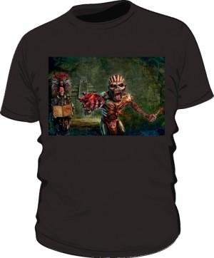 Koszulka Iron Maiden czarna męska