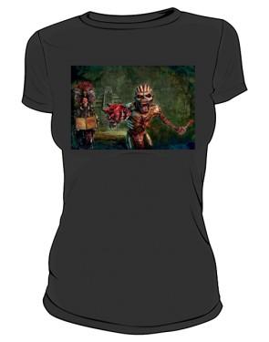 Koszulka Iron Maiden czarna damska
