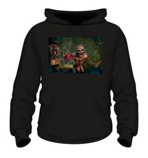 Bluza z kapturem Iron Maiden czarna