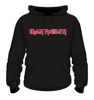 Bluza z kapturem Iron Maiden napis